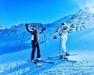 Лыжный курорт в Швейцарии